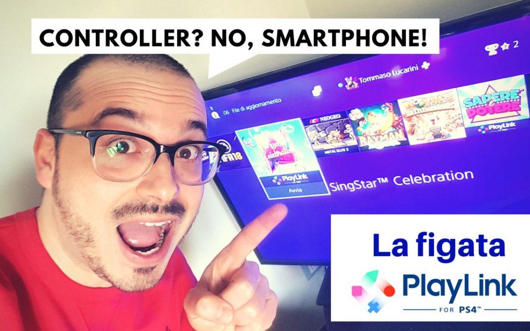 La figata PlayLink: alla PS4 si gioca con lo smartphone