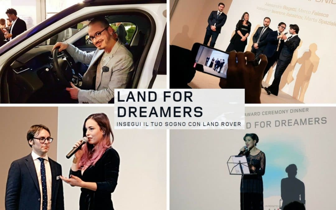"""Land For Dreamers, per Land Rover """"è un paese per sognatori"""""""