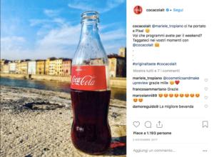 Come Aumentare i follower su instagram - Coca Cola Italia