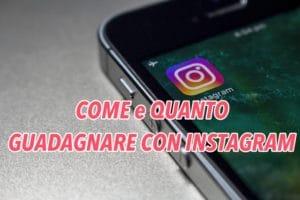 come e quanto guadagnare con instagram
