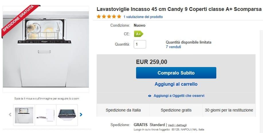 lavastoviglie ebay