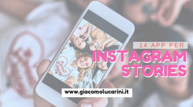 14 App Per Creare Instagram Stories Spettacolari
