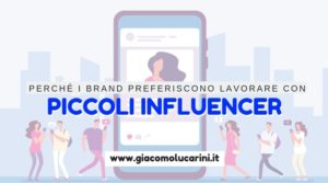 influencer marketing piccoli