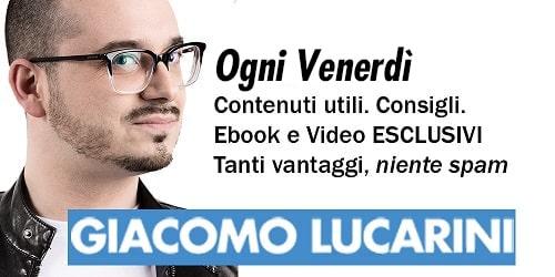 giacomo lucarini newsletter 2020
