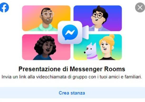 Facebook Messenger, Come Creare Stanze Gratis per fare Videochiamate