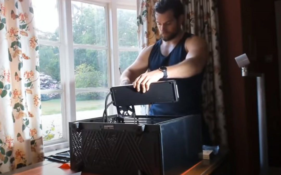 henry cavill pc gaming