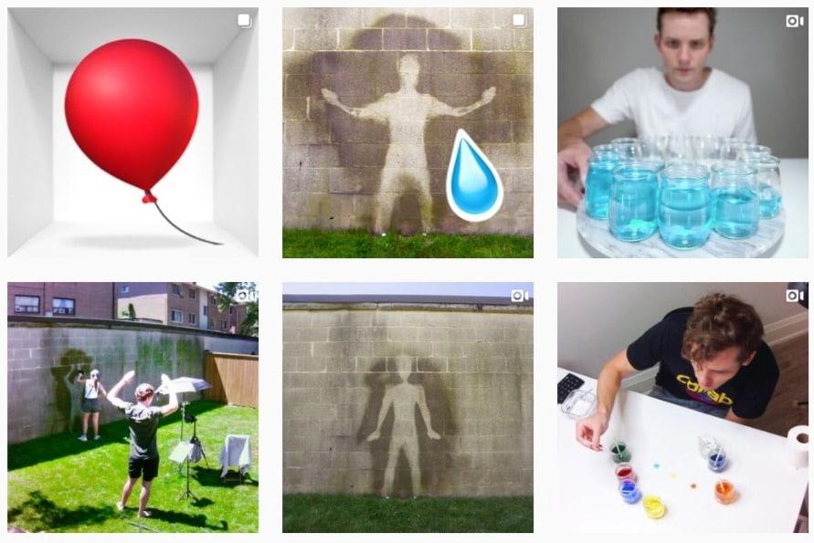 profili instagram originali kevin parry