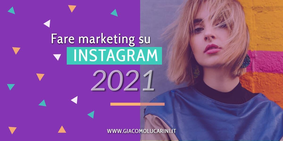 fare marketing su instagram